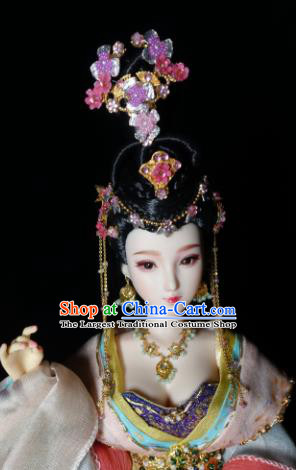 Chinese Ancient Tang Dynasty Princess Headwear Phoenix Coronet Traditional Palace Hair Accessories for Women