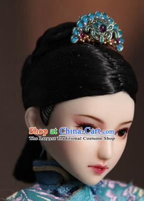 Chinese Ancient Palace Manchu Hairpins Traditional Qing Dynasty Imperial Consort Hair Accessories for Women