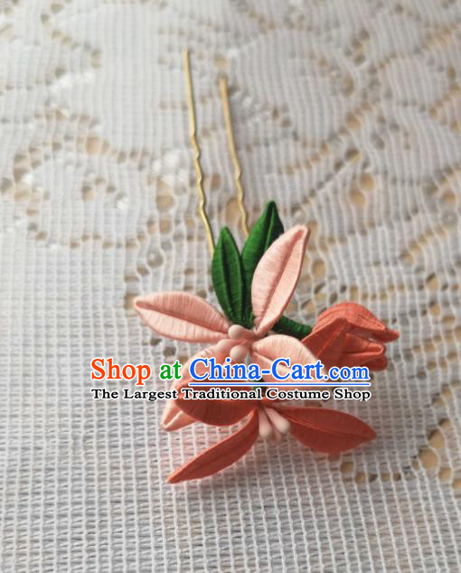 Japanese Handmade Kimono Hair Accessories Japan Traditional Yukata Hairpins for Women