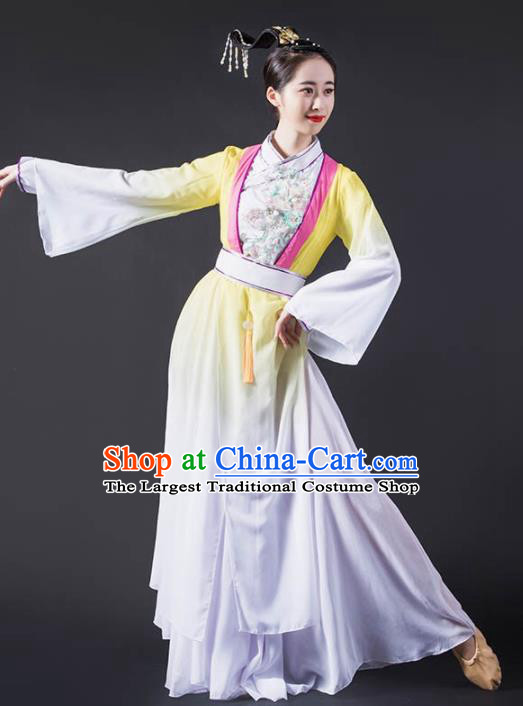 Chinese Classical Dance Dress Traditional Dunhuang Flying Apsaras Stage Performance Costume for Women