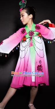 Chinese Korean Nationality Stage Performance Costume Traditional Ethnic Minority Clothing for Kids