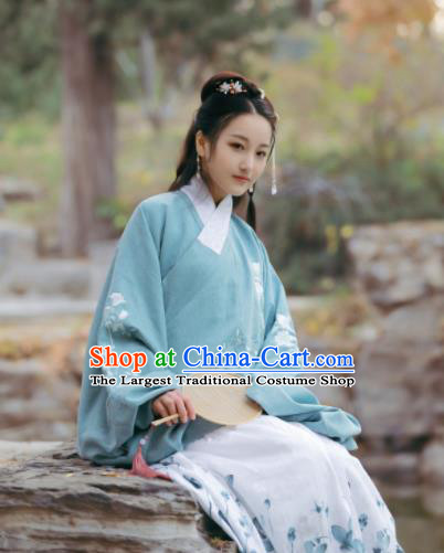 Traditional Chinese Ming Dynasty Nobility Lady Historical Costume Ancient Princess Hanfu Dress for Women