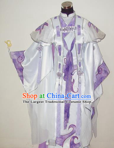 Traditional Chinese Cosplay Prince Hanfu Clothing Ancient Swordsman Royal Highness Embroidered Costume for Men
