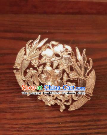 Traditional Chinese Ming Dynasty Queen Hairpins Handmade Ancient Palace Hair Accessories for Women