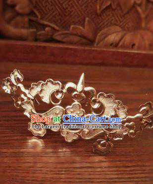 Traditional Chinese Ming Dynasty Queen Hairpins Hair Crown Handmade Ancient Palace Hair Accessories for Women
