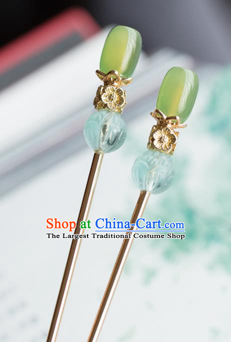 Chinese Handmade Hairpins Ancient Princess Hair Accessories Headwear for Women