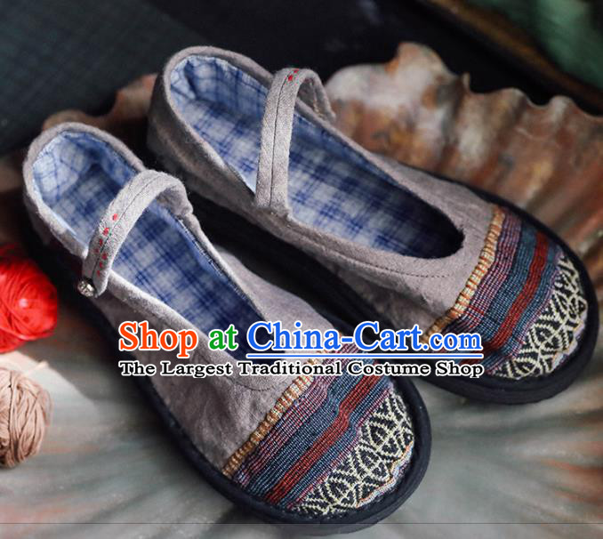 Chinese Cloth Shoes Traditional Shoes National Hanfu Shoes for Women