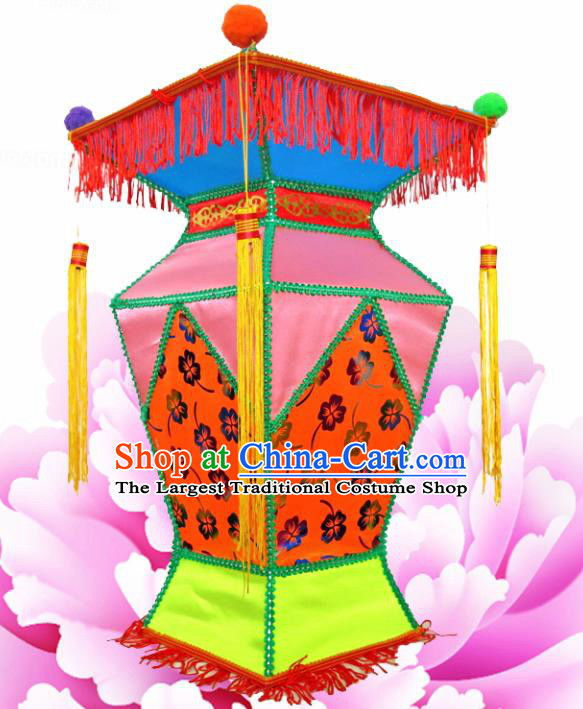 Chinese Handmade Palace Lanterns Traditional New Year Lantern Ancient Ceiling Lamp