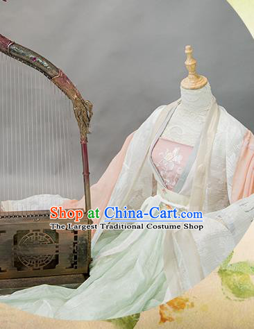 Chinese Traditional Cosplay Imperial Consort Costume Ancient Tang Dynasty Hanfu Dress for Women