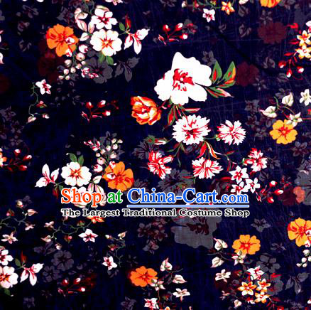 Chinese Traditional Fabric Classical Pattern Design Brocade Cheongsam Satin Material Silk Fabric