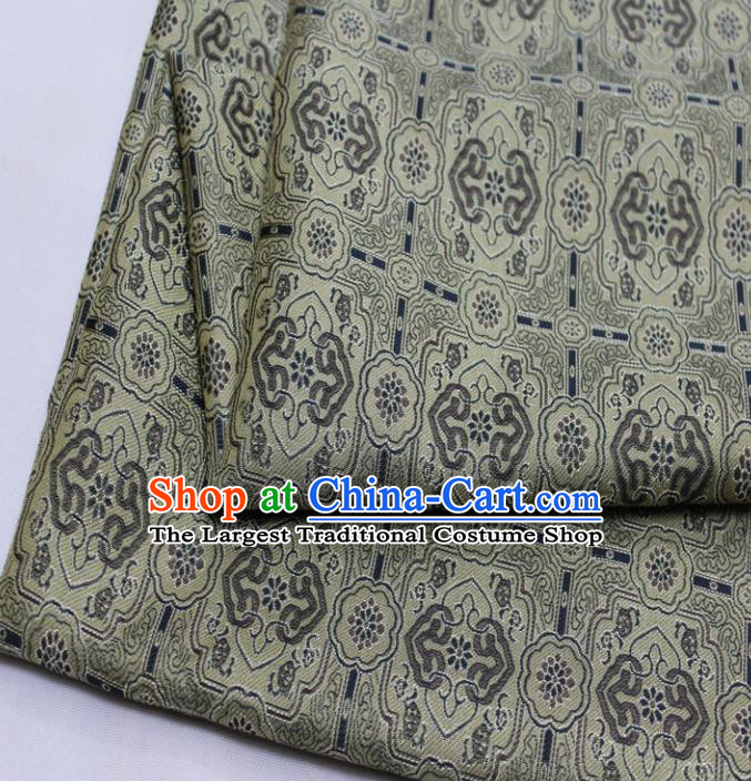 Chinese Traditional Fabric Royal Pattern Song Brocade Material Hanfu Classical Satin Silk Fabric