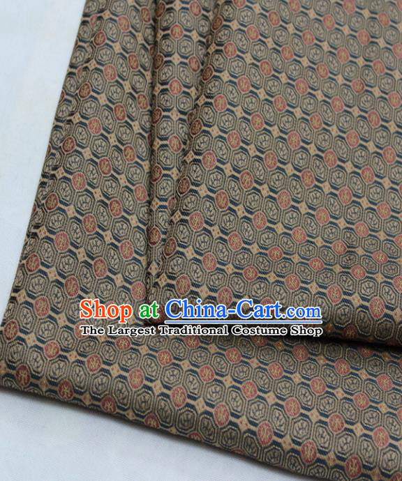Chinese Traditional Tang Suit Fabric Royal Pattern Brocade Material Hanfu Classical Satin Silk Fabric