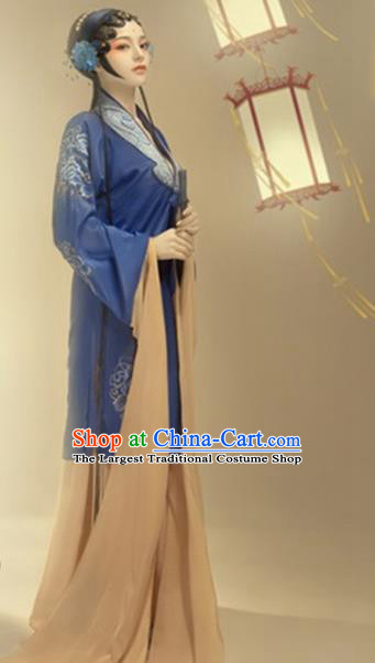 Chinese Ancient Imperial Concubine Hanfu Dress Traditional Beijing Opera Historical Costume for Women
