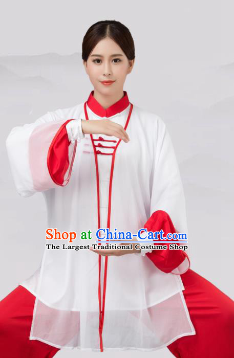Traditional Chinese Martial Arts Costume Tai Ji Kung Fu Competition Clothing for Women