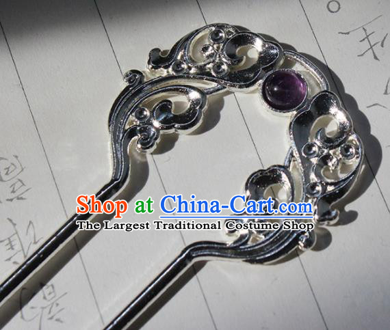 Traditional Chinese Ancient Tang Dynasty Princess Hair Clip Hairpins Handmade Hanfu Hair Accessories for Women