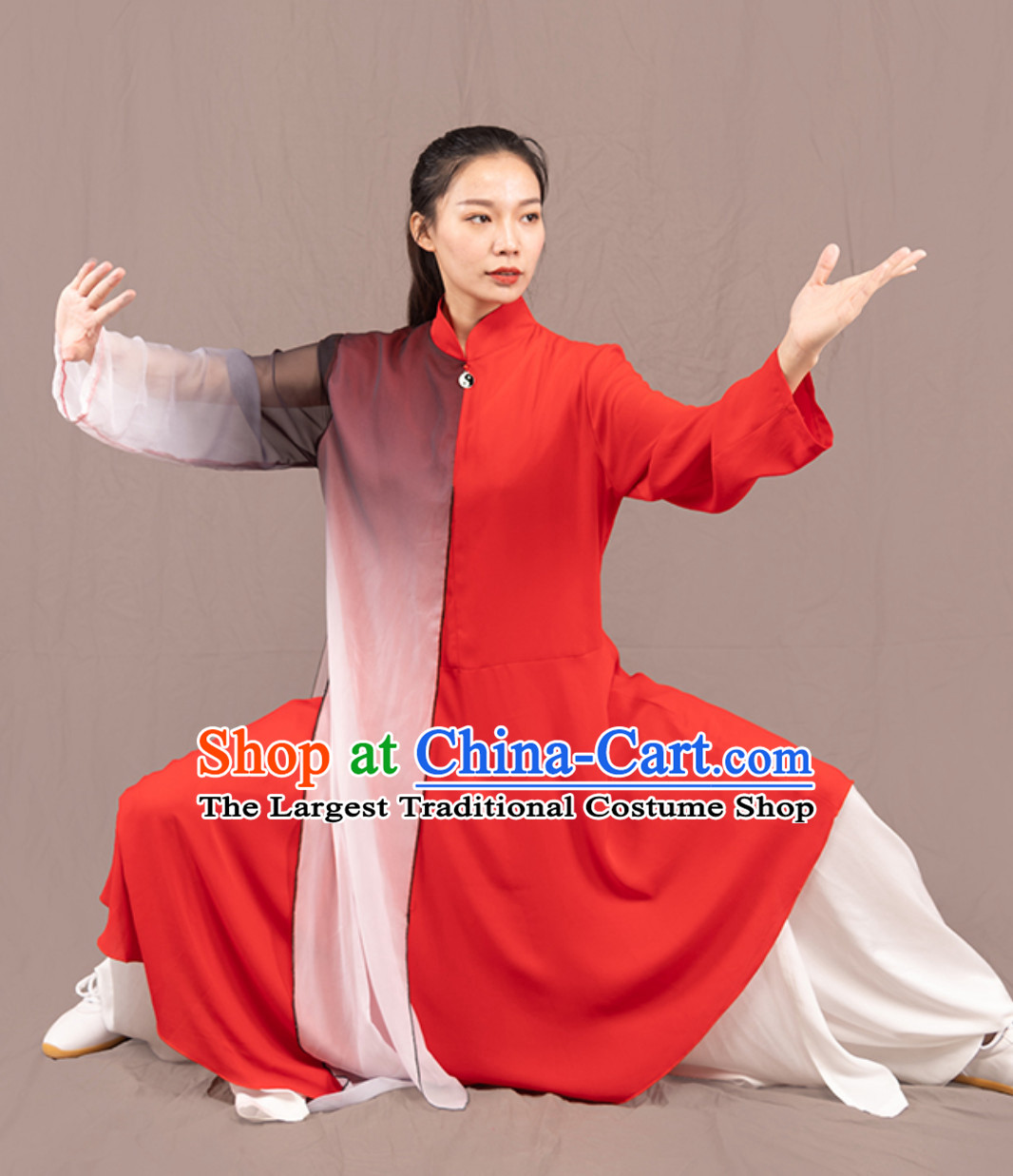 Top Chinese Traditional Competition Championship Tai Chi Taiji Kung Fu Uniforms Master Dresses Complete Set