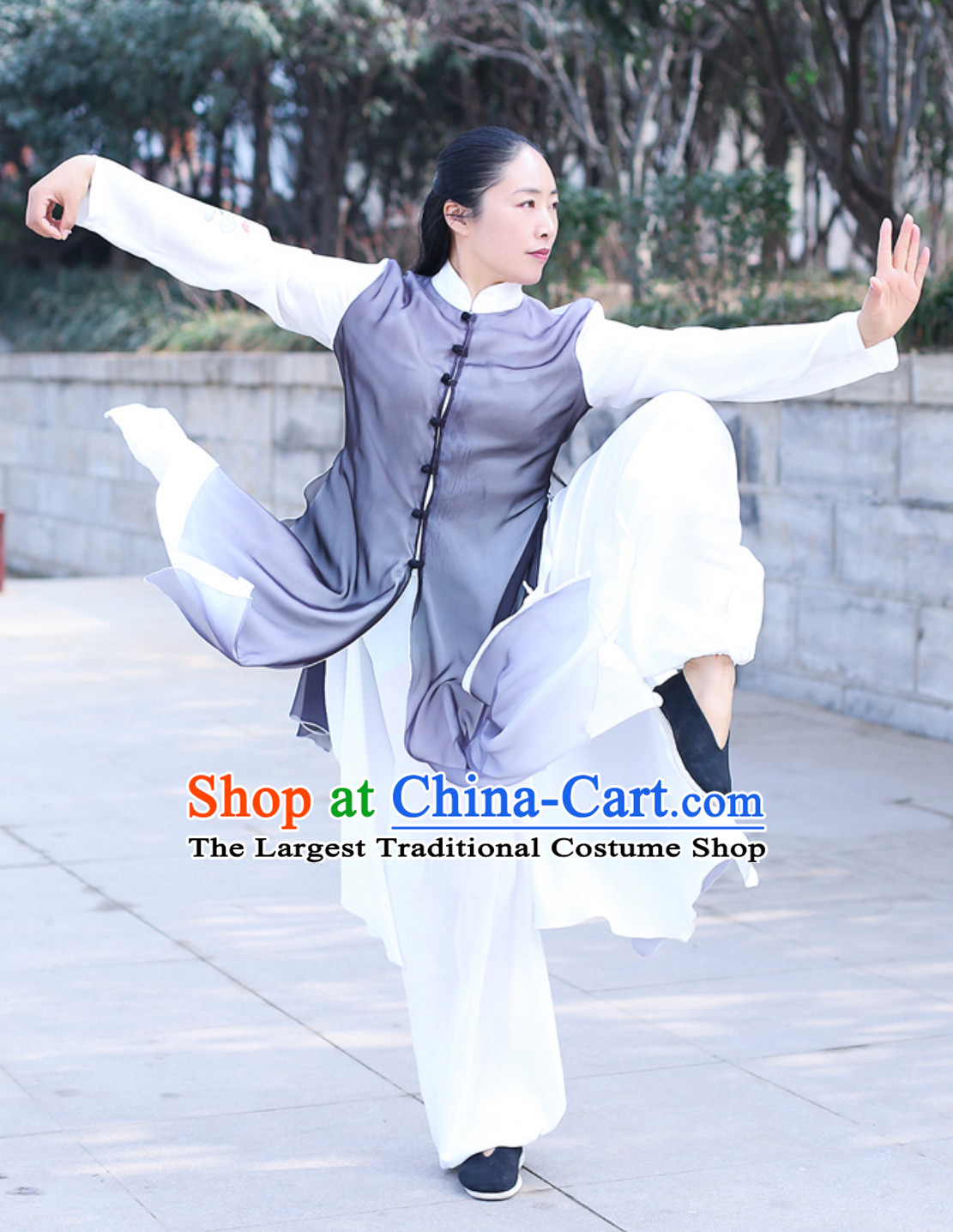Top Chinese Traditional Competition Championship Tai Chi Taiji Kung Fu Wing Chun Shaolin Master Suits Kungfu Clothing Complete Set