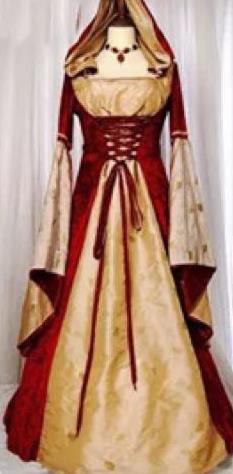 Europe Medieval Traditional Court Princess Wine Red Costume European Full Dress for Women