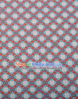 Chinese Traditional Flowers Pattern Design Brocade Silk Fabric Tang Suit Fabric Material