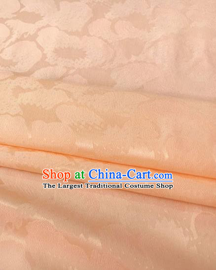 Asian Chinese Traditional Pattern Design Pink Brocade Fabric Silk Fabric Chinese Fabric Asian Material