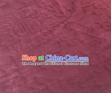 Chinese Traditional Treasure Pattern Design Wine Red Brocade Fabric Asian Silk Fabric Chinese Fabric Material