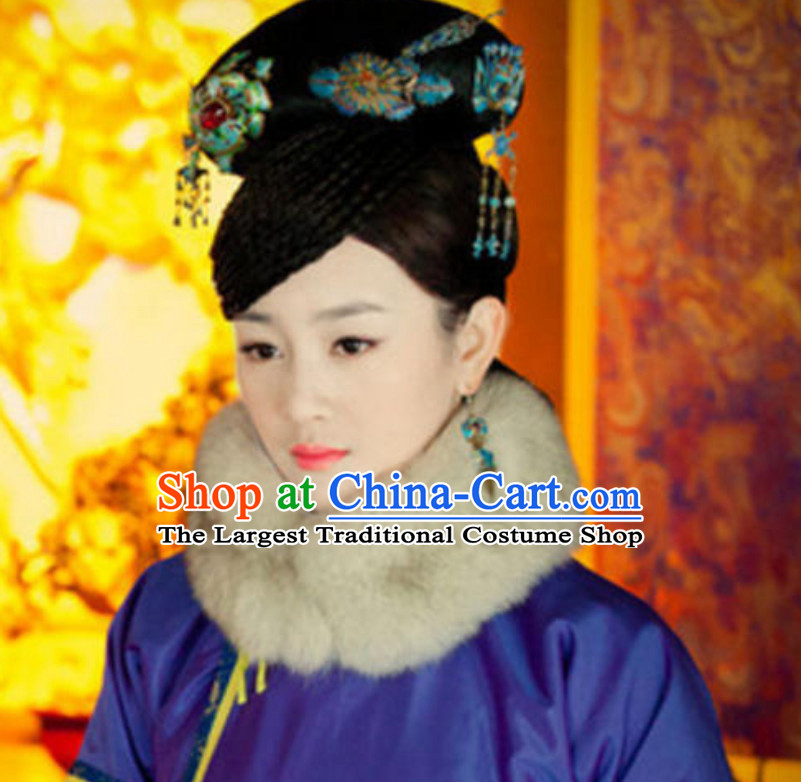 TV Drama Beauties Without Tears Hai Lanzhu Qing Dynasty Imperial Hair Jewelry