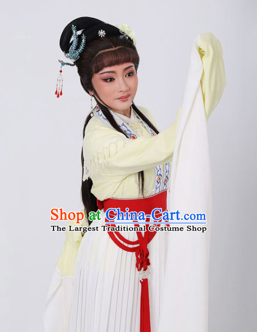Chinese Traditional Peking Opera Actress Dress Ancient Nobility Lady Embroidered Costume for Women