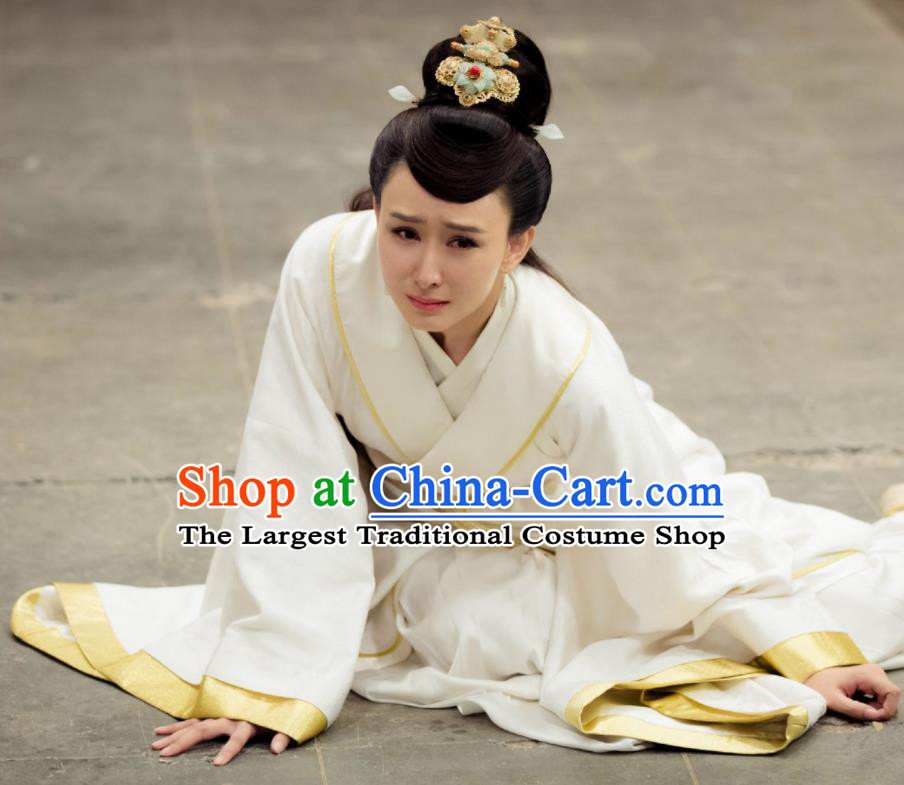 Chinese Ancient Shang Dynasty Queen Jiang Drama The Legend of Deification Costume for Women
