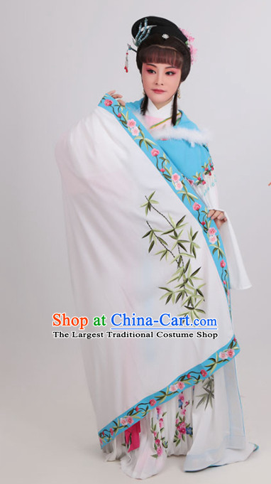 Chinese Traditional Opera Court Princess Dress Ancient Beijing Opera Diva Embroidered Costume for Women