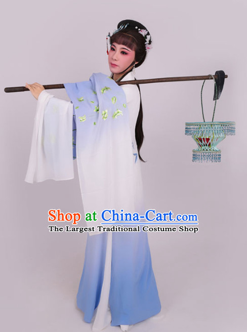 Chinese Traditional Peking Opera Actress Embroidered Dress Ancient Nobility Lady Costume for Women