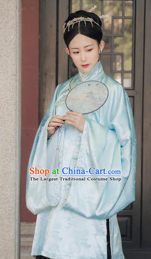 Asian Chinese Ming Dynasty Rich Dowager Replica Costume Traditional Ancient Court Lady Hanfu Dress for Women