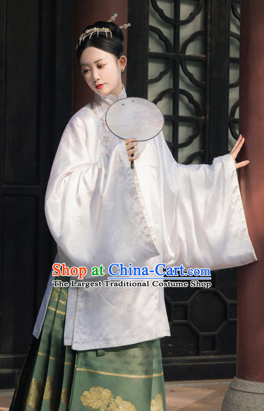 Ancient Chinese Ming Dynasty Princess Replica Costume Traditional Palace Lady Hanfu Dress for Women