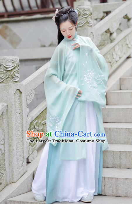 Chinese Ancient Ming Dynasty Court Hanfu Dress Antique Traditional Palace Princess Historical Costume for Women