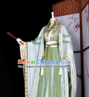 Customized Chinese Cosplay Swordsman Shen Qingqiu Costume Ancient Drama Childe Clothing for Men