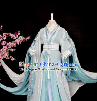 Customized Chinese Cosplay Swordsman Chu Wanning Costume Ancient Drama Childe Clothing for Men