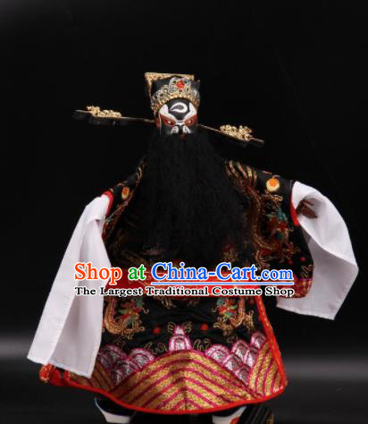 Traditional Chinese Handmade Bao Zheng Puppet Marionette Puppets String Puppet Wooden Image Arts Collectibles