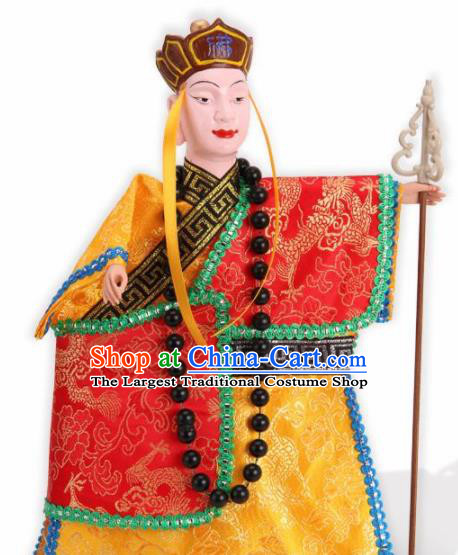 Traditional Chinese Journey to the West Xuanzang Puppet Marionette Puppets String Puppet Wooden Image Arts Collectibles