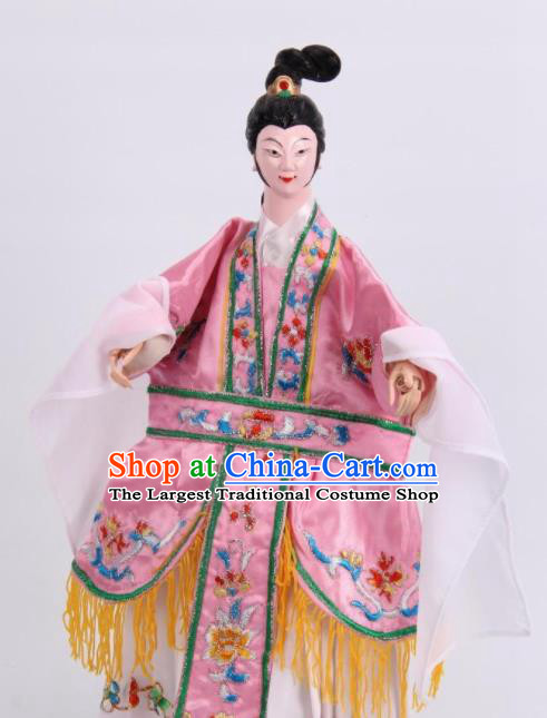 Traditional Chinese Beauty Xi Shi Puppet Marionette Puppets String Puppet Wooden Image Arts Collectibles