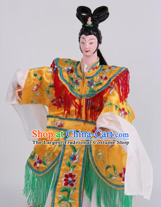 Traditional Chinese Beauty Consort Yang Puppet Marionette Puppets String Puppet Wooden Image Arts Collectibles