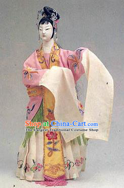 Chinese Traditional Beijing Opera Diva Marionette Puppets Handmade Puppet String Puppet Wooden Image Arts Collectibles