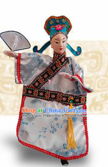 Chinese Traditional Scholar Marionette Puppets Handmade Puppet String Puppet Wooden Image Arts Collectibles