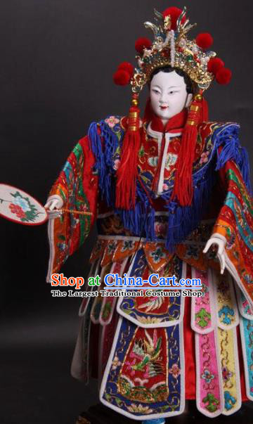 Traditional Chinese Imperial Consort Marionette Puppets Handmade Puppet String Puppet Wooden Image Arts Collectibles