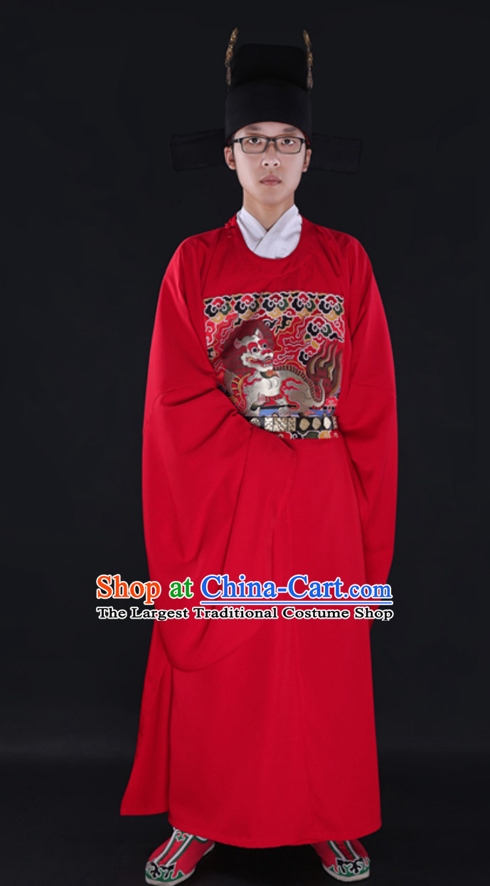 Ming Dynasty Official Clothing for Men