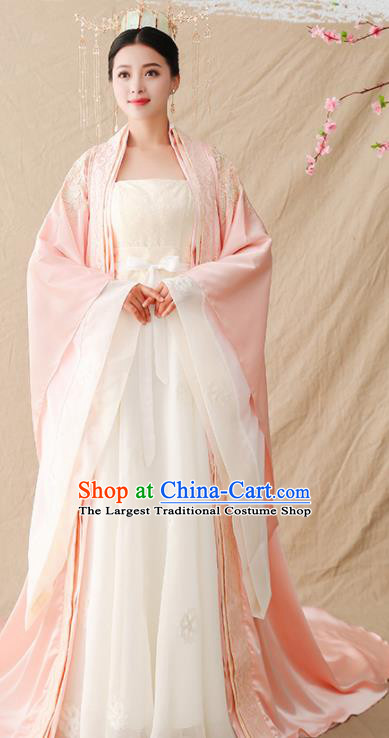 Traditional Chinese Tang Dynasty Queen Hanfu Clothing Ancient Drama Imperial Empress Replica Costumes for Women