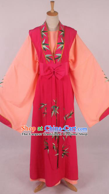 Traditional Chinese Shaoxing Opera Niche Li Menglong Embroidered Rosy Robe Ancient Nobility Childe Costume for Men