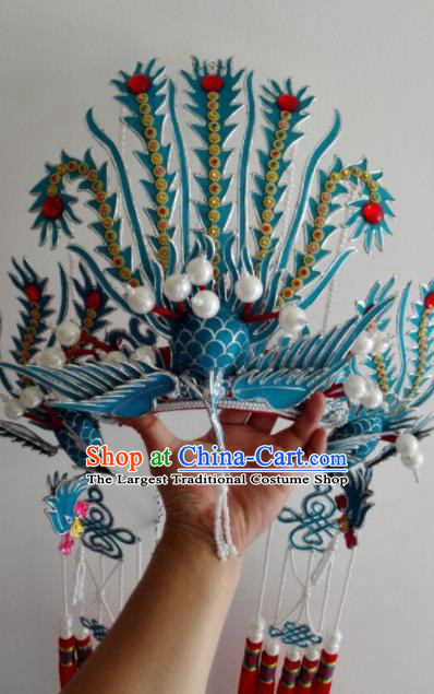Traditional Chinese Shaoxing Opera Diva Phoenix Coronet Ancient Court Queen Headwear for Women