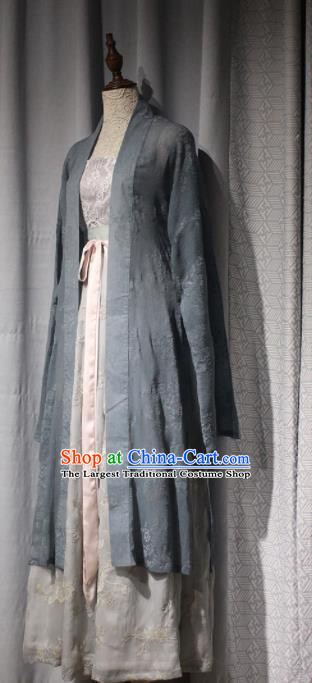 Chinese Ancient Drama Hanfu Dress Traditional Song Dynasty Young Lady Replica Costumes for Women