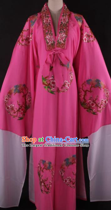 Chinese Shaoxing Opera Niche Gifted Scholar Pink Gown Traditional Ancient Childe Costume for Men