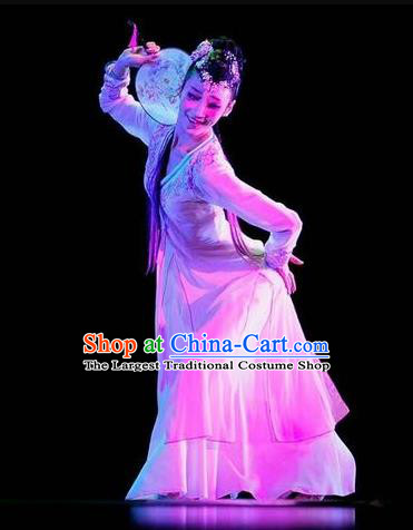 Dance of the Butterfly Traditional Chinese Classical Dance Costume Folk Dance Dress for Women