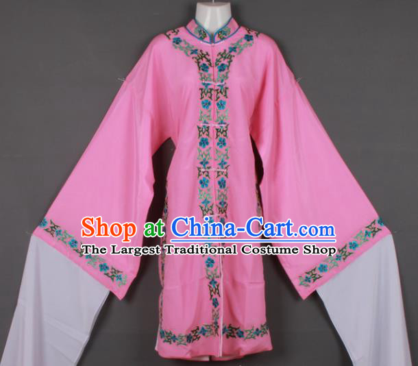 Professional Chinese Shaoxing Opera Pink Blouse Ancient Traditional Peking Opera Diva Costume for Women
